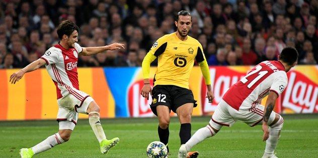 Maç Sonucu Ajax 3-0 Lille ÖZET