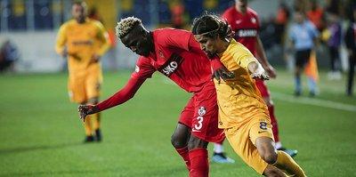Gaziantep FK'nin galibiyet hasreti sona erdi
