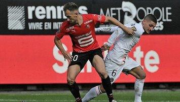 PSG'ye Rennes şoku