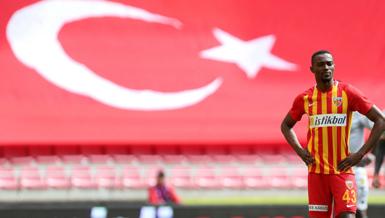 """Kayserisporlu Bernard Mensah: """"Önemli olan kazanmaktı"""""""