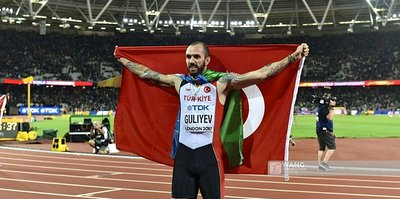 Ramil Guliyev'in hedefi altın madalya