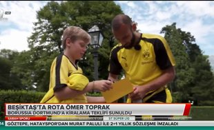 Beşiktaş'ta rota Ömer Toprak
