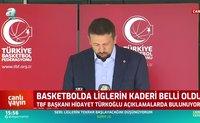 Basketbolda ligler sonlandırıldı!