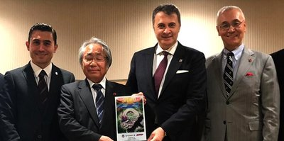 Fikret Orman, Japon gazetecilerle bir araya geldi