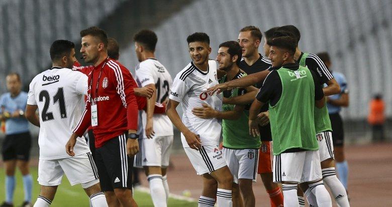 Beşiktaş - Panathinaikos maçından kareler