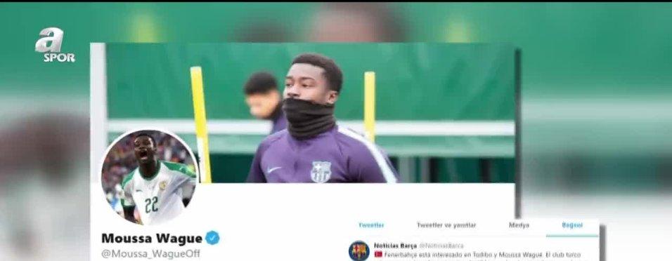 Moussa Wague Fenerbahçe'yi heyecanlandıran hamle!