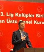 Yeni başkan Volkan Can