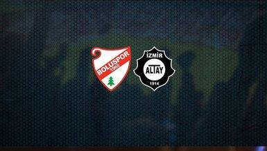Boluspor - Altay maçı ne zaman, saat kaçta ve hangi kanalda canlı yayınlanacak? | TFF 1. Lig