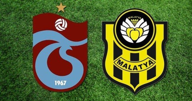 Trabzonspor-Malatyaspor mücadelesinde 11'ler belli oldu