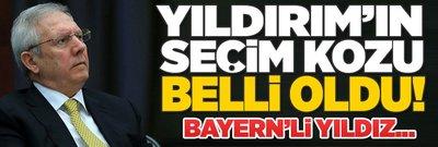 Yıldırım'ın seçim kozu! Bayern'li yıldız...