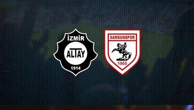 Altay - Samsunspor maçı ne zaman? Saat kaçta? Hangi kanalda canlı yayınlanacak? Şifresiz mi?