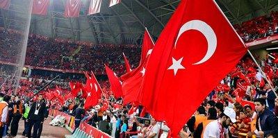 """ESKİŞEHİR'DE """"MİLLİ"""" YOĞUNLUK"""