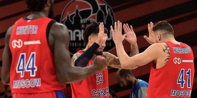 Anadolu Efes'in finaldeki rakibi CSKA Moskova oldu