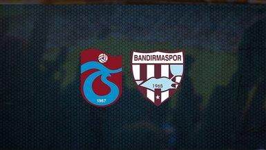 Trabzonspor maçı: Trabzonspor - Bandırmaspor hazırlık maçı ne zaman, saat kaçta ve hangi kanalda canlı yayınlanacak?