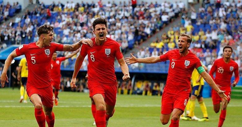 İngiltere kafa attı!