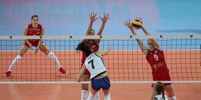 Kadınlar Voleybol Avrupa Şampiyonası'nın ilk finalisti Sıırbistan
