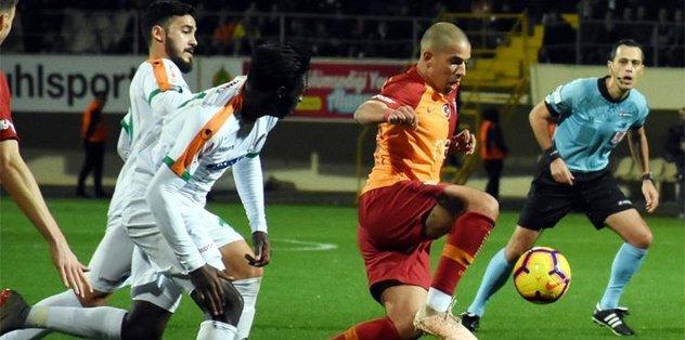 Galatasaray'da dikkat çeken istatistik! Alanyaspor'a karşı...
