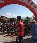 Çameli'de 'Dağ Bisikleti Maratonu' yapıldı