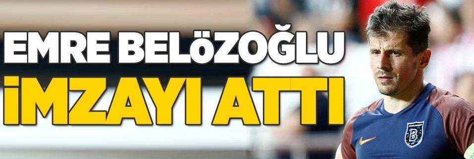 Emre Belözoğlu imzayı attı!