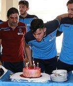 Trabzonspor'da Uğurcan Çakır'a doğum günü sürprizi