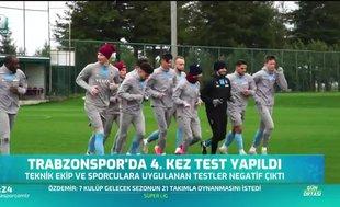 Trabzonspor'dan sevindirici haber! Corona virüsü...