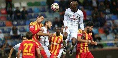 Beşiktaş ile Kayserispor 43. randevuda