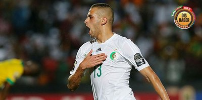 Cezayir Slimani'nin golüyle kazandı