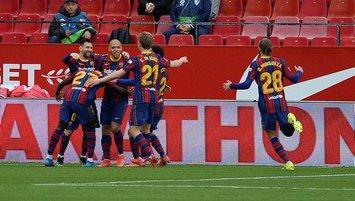 Barcelona Sevilla'yı deplasmanda yıktı