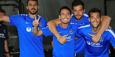 Trabzonspor'da keyifler yerinde