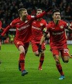 Bayer Leverkusen geriden geldi!