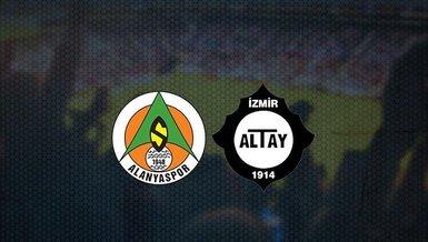 Alanyaspor-Altay maçı CANLI | İlk 11'ler belli oldu