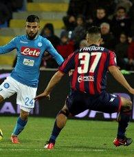 İtalya Serie Ada ilk yarının lideri Napoli