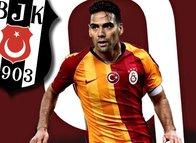 Galatasaray'daki Falcao krizini böyle duyurdular! Beşiktaş derbisinde...