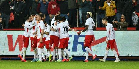 Gaziantep FK sahasında kazandı