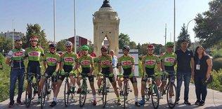 Uluslararası Mevlana Bisiklet Turunun genel klasmanında birinci Torku oldu