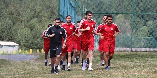 Sivasspor'un Bolu kampı