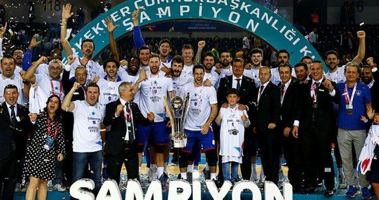Cumhurbaşkanlığı Kupası Anadolu Efes'in!