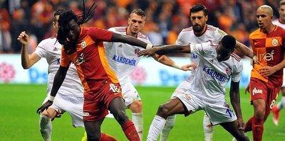 Galatasaray ile Karabükspor 20. randevuda