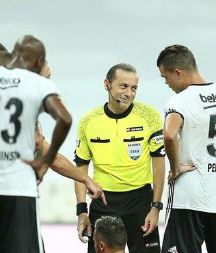 Cüneyt Çakır, Beşiktaş'ı yaktı!