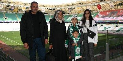 Konyaspor taraftarı Muhammet Ayaz'ın hayaline korona virüs engeli