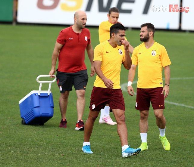 Galatasaraylı Falcao gol atarsa o şarkı çalacak