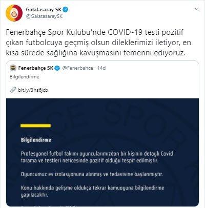son dakika fenerbahcede corona virusu soku bir futbolcu 1598262709163 - Son dakika: Fenerbahçe'de corona virüsü şoku! Bir futbolcu...
