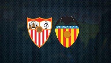 Sevilla-Valencia maçı ne zaman, saat kaçta ve hangi kanalda CANLI yayınlanacak? Muhtemel 11'ler neler?