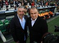 Bursaspor - Galatasaray maçından kareler