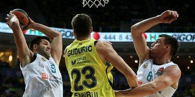 Fenerbahçe Doğuş Real Madrid'e kaybetti