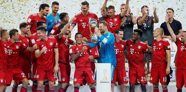 Almanya Süper Kupa, Bayern Münih'in
