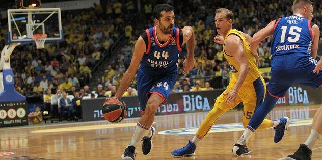Anadolu Efes, Maccabi'yi ezdi geçti!