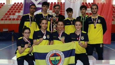 Fenerbahçe kadın ve erkek masa tenisi takımları Süper Lig şampiyonu oldu