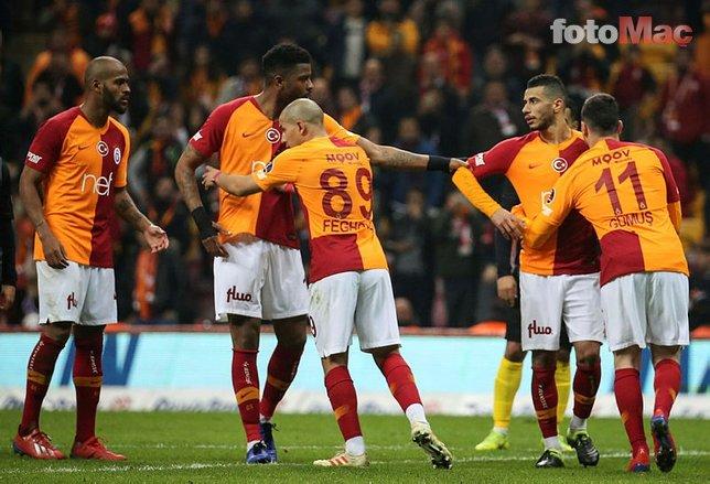 İşte Galatasaray'ın Fenerbahçe derbisi 11'i