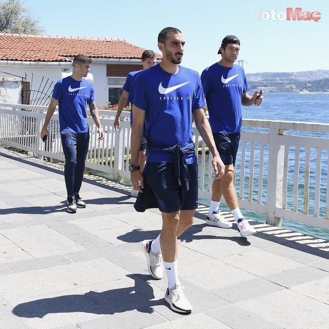 İstanbul'da UEFA Süper Kupa manzaraları